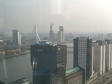 Rotterdam from Robert's penthouse appartment